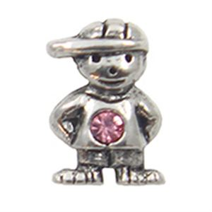 Picture of October Boy Birthstone Charm